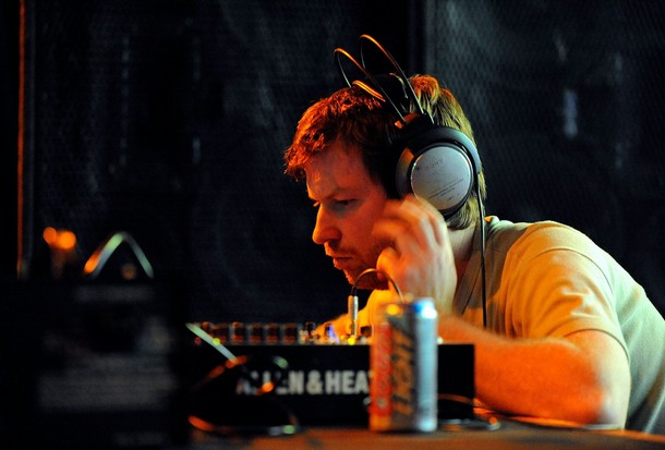 INDIO, CA - APRIL 25:  Dj Aphex Twin performs during day 1 of the Coachella Valley Music and Arts Festival at the Empire Polo Field on April 25, 2008 in Indio, California.  (Photo by Charley Gallay/Getty Images)