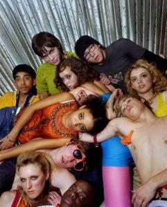 Skins Season 1 & 2 Group Promo Shoot